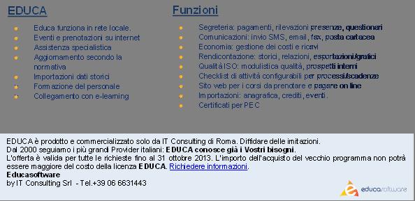 EDUCA<br /><br /><br /><br /><br /><br /><br /><br /><br /><br /><br /><br /> Educa funziona in rete locale.<br /><br /><br /><br /><br /><br /><br /><br /><br /><br /><br /><br /> Eventi e prenotazioni su internet<br /><br /><br /><br /><br /><br /><br /><br /><br /><br /><br /><br /> Assistenza specialistica<br /><br /><br /><br /><br /><br /><br /><br /><br /><br /><br /><br /> Aggiornamento secondo la normativa<br /><br /><br /><br /><br /><br /><br /><br /><br /><br /><br /><br /> Importazioni dati storici<br /><br /><br /><br /><br /><br /><br /><br /><br /><br /><br /><br /> Formazione del personale<br /><br /><br /><br /><br /><br /><br /><br /><br /><br /><br /><br /> Collegamento con e-learning<br /><br /><br /><br /><br /><br /><br /><br /><br /><br /><br /><br /> - Descrizione: Educa funziona in rete locale.<br /><br /><br /><br /><br /><br /><br /><br /><br /><br /><br /><br /> Eventi e prenotazioni su internet<br /><br /><br /><br /><br /><br /><br /><br /><br /><br /><br /><br /> Assistenza specialistica<br /><br /><br /><br /><br /><br /><br /><br /><br /><br /><br /><br /> Aggiornamento secondo la normativa<br /><br /><br /><br /><br /><br /><br /><br /><br /><br /><br /><br /> Importazioni dati storici<br /><br /><br /><br /><br /><br /><br /><br /><br /><br /><br /><br /> Formazione del personale<br /><br /><br /><br /><br /><br /><br /><br /><br /><br /><br /><br /> Collegamento con e-learning